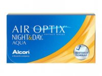 Air Optix Night & Day Aqua - havi kontaktlencse (6 db/doboz)