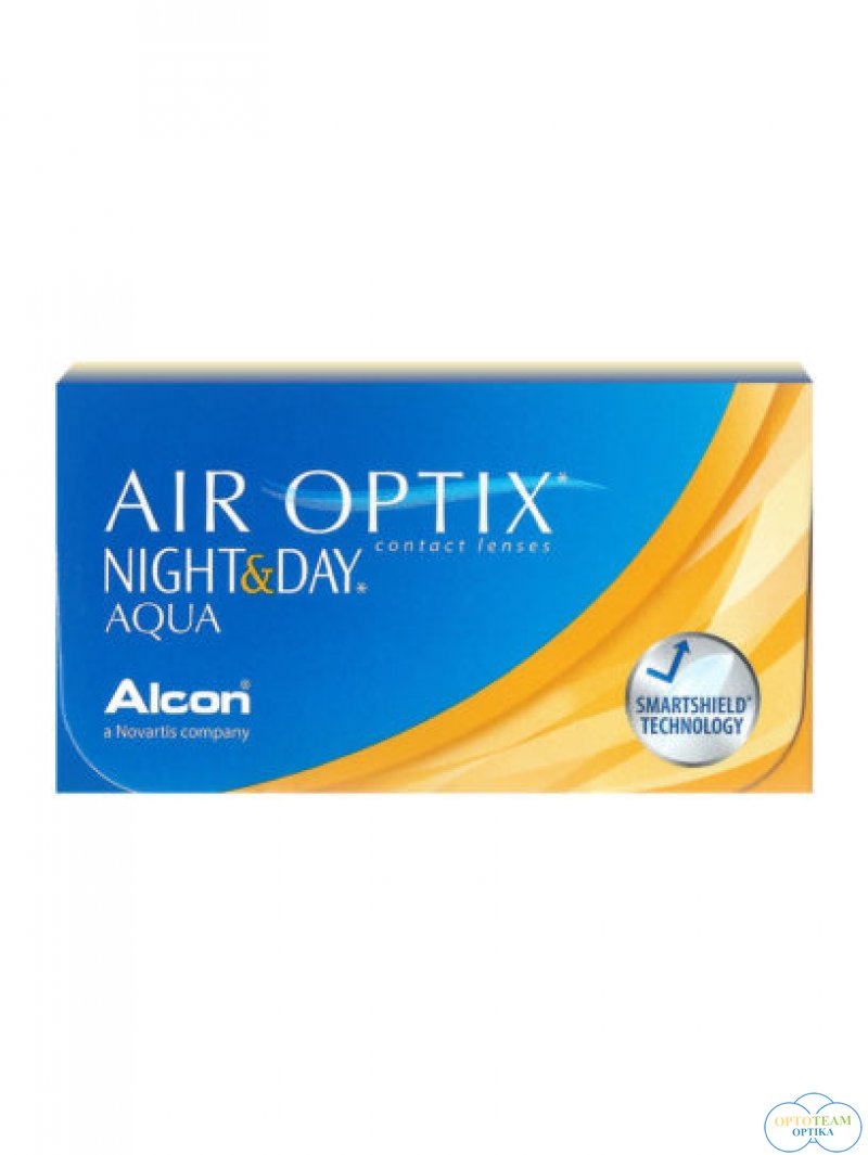 Air Optix Night & Day Aqua - havi kontaktlencse (3 db/doboz)