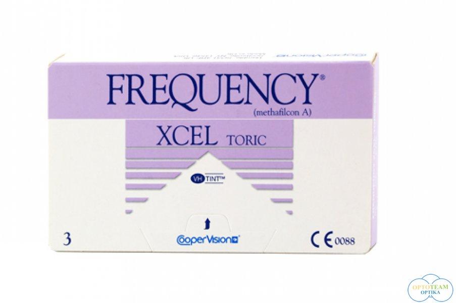 Frequency XCEL Toric - havi kontaktlencse (3 db/doboz)